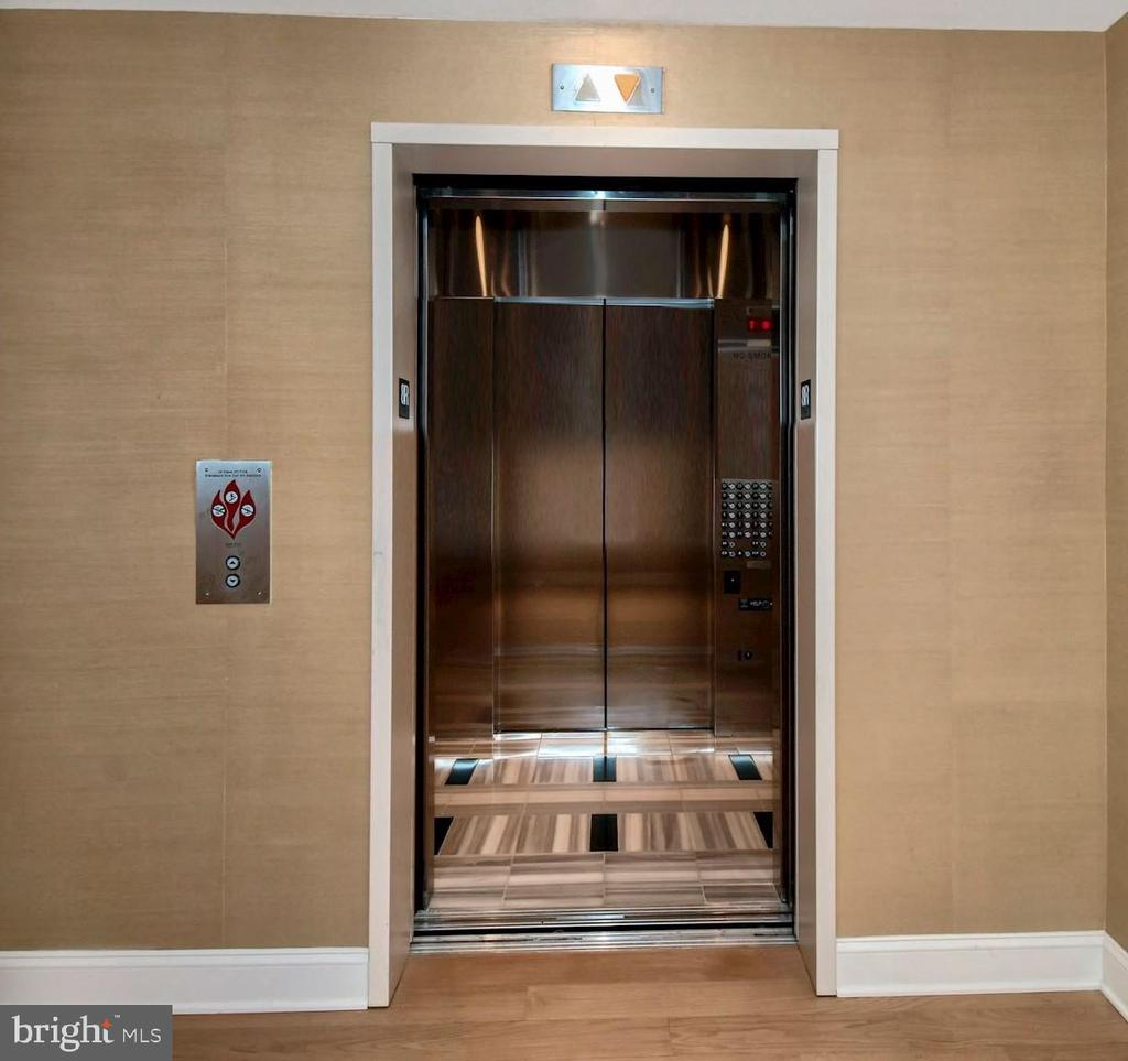 Direct access elevator into #804 - 1881 N NASH ST #804, ARLINGTON