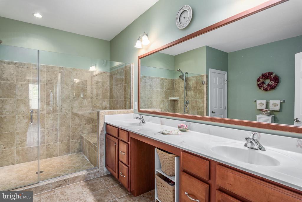 Master bathroom - 44557 GRANITE RUN TER, ASHBURN