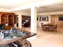 Huge open basement Rec room, fireplace, walkout - 14414 BROADWINGED DR, GAINESVILLE