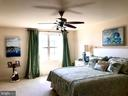 Bedroom on upper level - 14414 BROADWINGED DR, GAINESVILLE