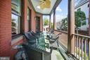 Idyllic side porch - 712 E CAPITOL ST NE, WASHINGTON