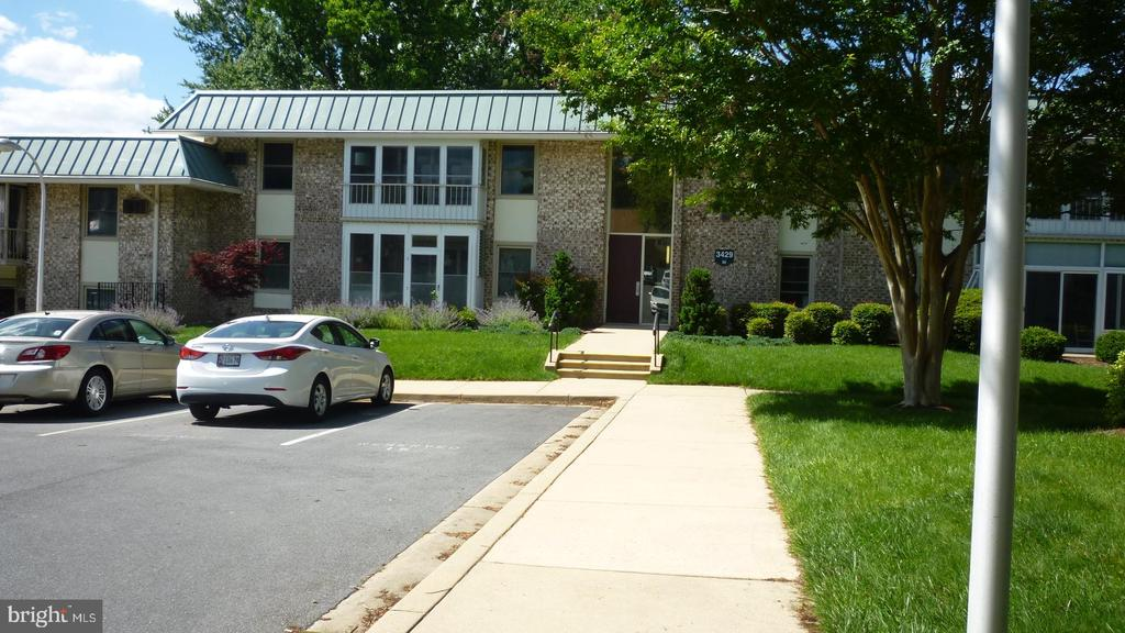 More of front - 3429 N LEISURE WORLD BLVD N #88-3E, SILVER SPRING