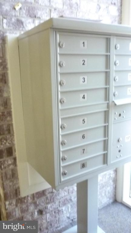 Mailbox in Lobby - 3429 S LEISURE WORLD BLVD N #88-3E, SILVER SPRING