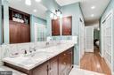 Master Bath Offers Plenty of Storage - 4501 35TH RD N, ARLINGTON