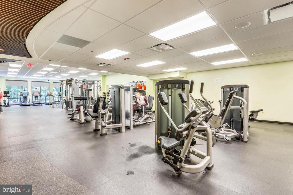 Fitness Center - 3429 N LEISURE WORLD BLVD N #88-3E, SILVER SPRING