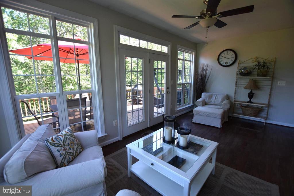 Gorgeous views of your property from here - 40 BELLA VISTA CT, STAFFORD