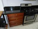 Kitchen, granite counters, stainless steel stove - 2504 22ND ST NE #6, WASHINGTON