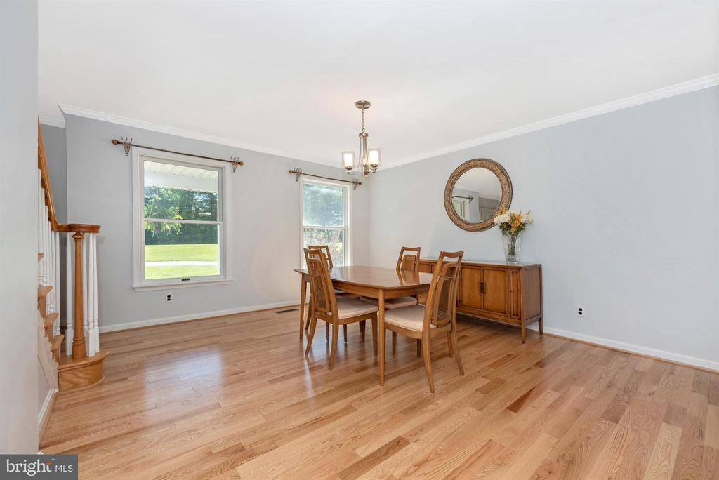 Dining Room - 6156 WOODVILLE RD, MOUNT AIRY