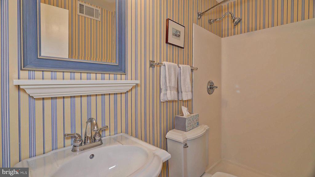 Lower level bath - 11210 LAGOON LN, RESTON