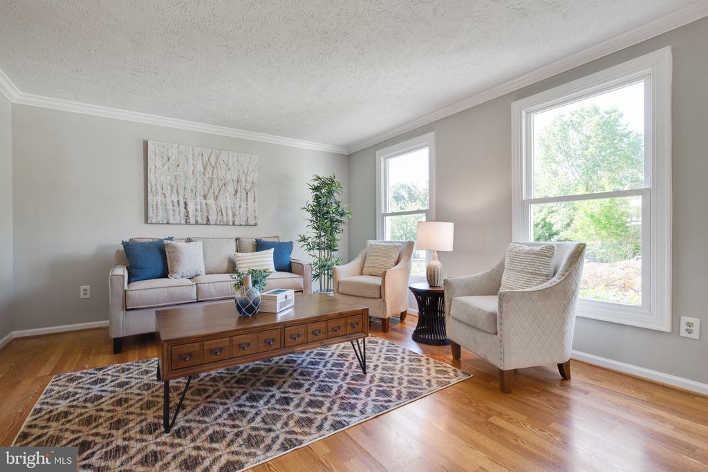 Living Room - 15153 HOLLEYSIDE DR, DUMFRIES