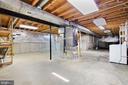 Unfinished Basement - 15153 HOLLEYSIDE DR, DUMFRIES