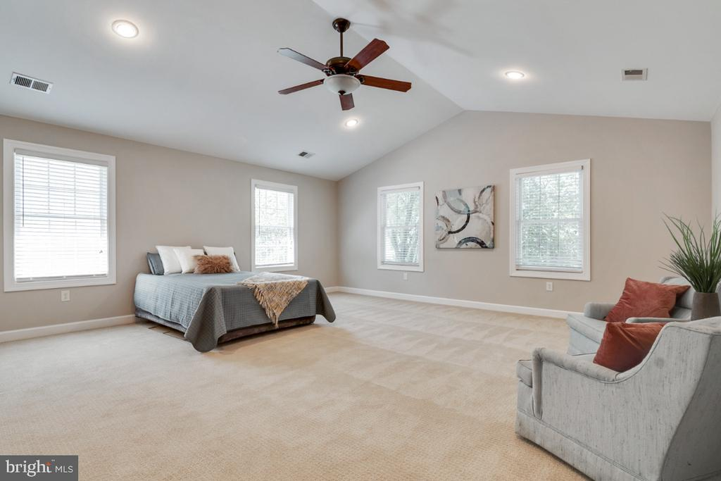 Incredible master bedroom suite! - 14422 WILLIAM CARR LN, CENTREVILLE