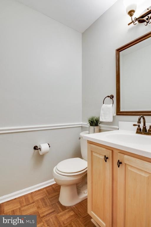 Updated powder room - 14422 WILLIAM CARR LN, CENTREVILLE
