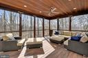 Relax with the treetops - 11329 STONEHOUSE PL, POTOMAC FALLS