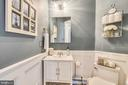 Powder Room - 11329 STONEHOUSE PL, POTOMAC FALLS