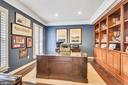 Front Office with lots of light & built-ins - 11329 STONEHOUSE PL, POTOMAC FALLS