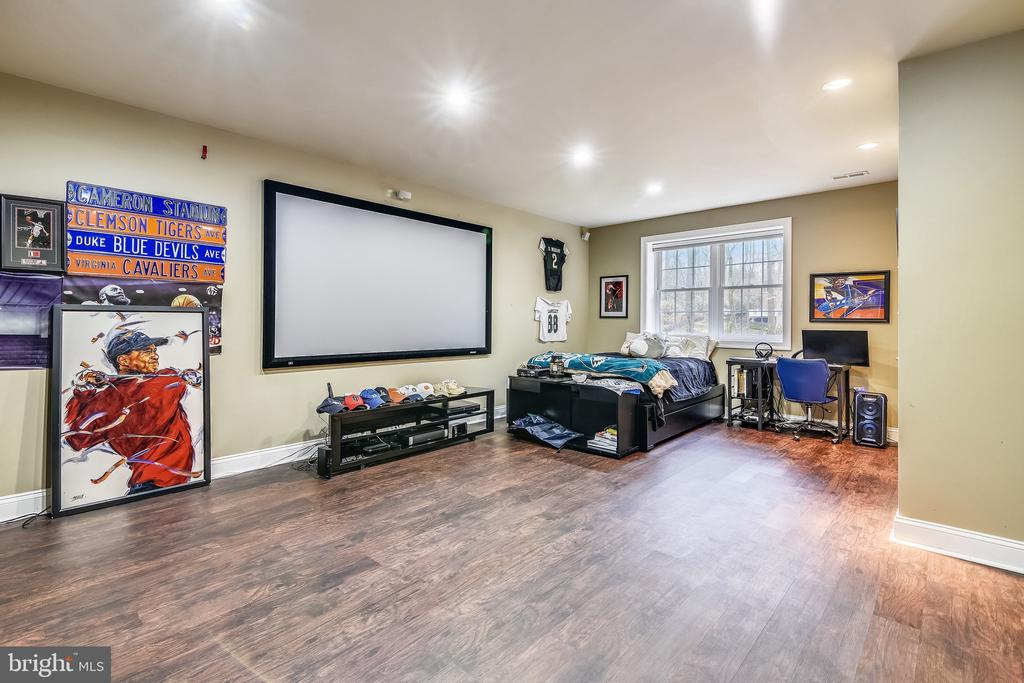 Theater Room OR Bedroom Or BOTH ... - 11329 STONEHOUSE PL, POTOMAC FALLS