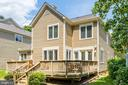 Rear Deck, - 1308 PAVILION CLUB WAY, RESTON
