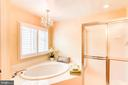 Master Bath - 1308 PAVILION CLUB WAY, RESTON