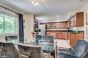 Dining Room Opens on Kitchen - 8364 ROCKY FORGE CT, SPRINGFIELD