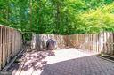 Fenced Back Yard - 8364 ROCKY FORGE CT, SPRINGFIELD