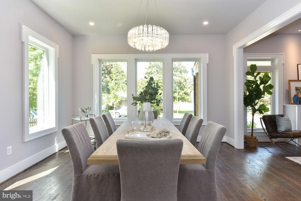 Dining Room - 2538 N GREENBRIER ST, ARLINGTON