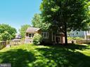 Lovely fenced, shaded, flat backyard - 6218 GENTLE LN, ALEXANDRIA