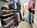 Custom Closets in Master - 6218 GENTLE LN, ALEXANDRIA
