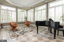 ...floor to ceiling windows, all around, - 11594 CEDAR CHASE RD, HERNDON