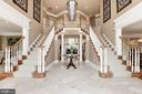 Grand Foyer, so much light, soaring ceilings - 11594 CEDAR CHASE RD, HERNDON