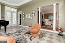 Enormous solarium/music room w/ upgraded flooring, - 11594 CEDAR CHASE RD, HERNDON