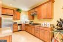 Spacious Kitchen in In-Law Suite - 13701 MOUNT PROSPECT DR, ROCKVILLE