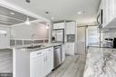 Eat-In Kitchen   Stainless Steel Appliances - 7131 ROCK CREEK DR, FREDERICK