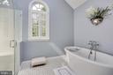 Renovated Master Bath with Bain Ultra Tub - 4629 35TH ST N, ARLINGTON