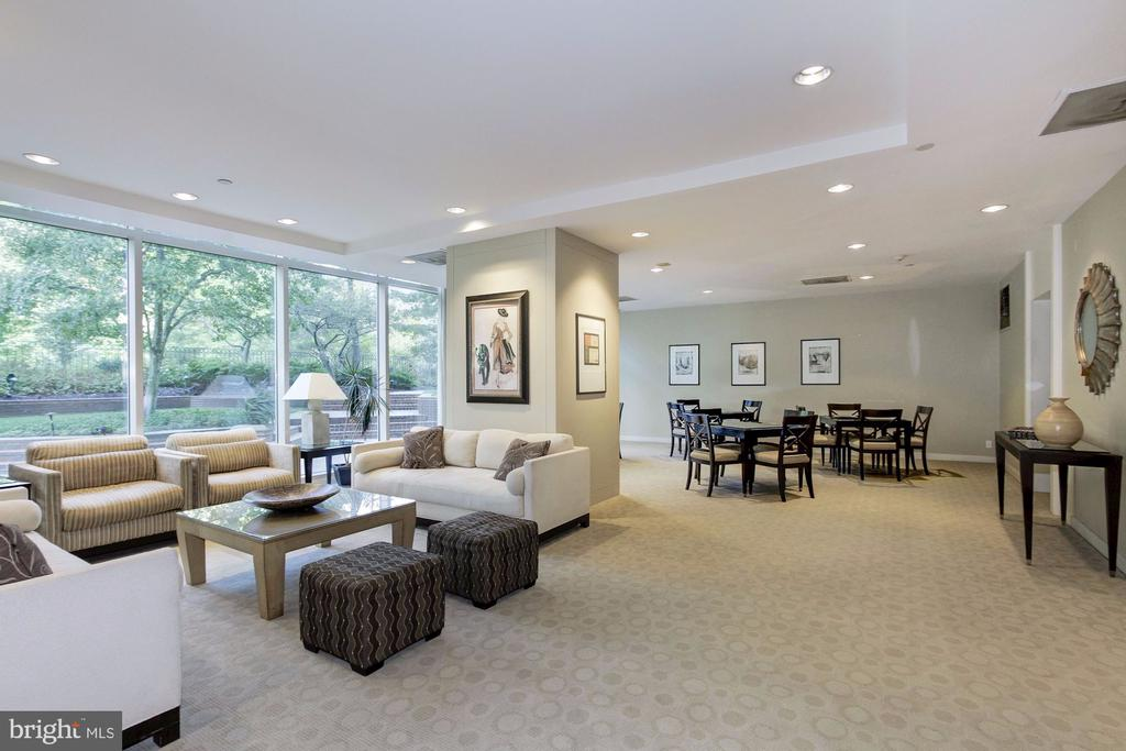 Community Room - 5610 WISCONSIN AVE #304, CHEVY CHASE