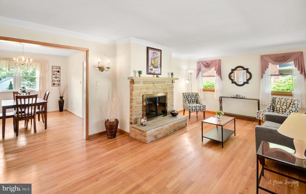 Living room - 404 CULLER AVE, FREDERICK