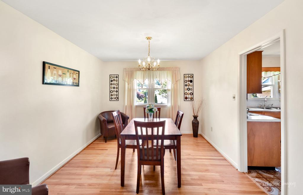 Dining room - 404 CULLER AVE, FREDERICK