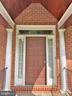 Front entry door - 6905 RANNOCH RD, BETHESDA
