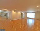 Family room to from yard view - 6905 RANNOCH RD, BETHESDA