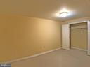 Basement sleeping area #2 - 6905 RANNOCH RD, BETHESDA