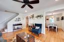 Beautiful Sun-Filled Living Room - 107 CALVERT RD, ROCKVILLE