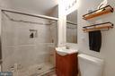 Lower Level Full Bath - 107 CALVERT RD, ROCKVILLE