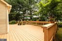 Enormous rear deck - 1232 BISHOPSGATE WAY, RESTON