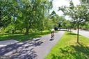 Four Mile Run Dr. is the beginning of W&OD Trail. - 3384 GUNSTON RD, ALEXANDRIA