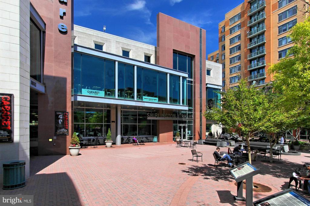 Shirlington Branch of Arlington Public Library. - 3384 GUNSTON RD, ALEXANDRIA