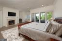 Master Bedroom w/ Fireplace - 40850 ROBIN CIR, LEESBURG