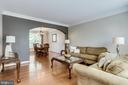 Living Room/Dining Room - 43226 KATHLEEN ELIZABETH DR, ASHBURN
