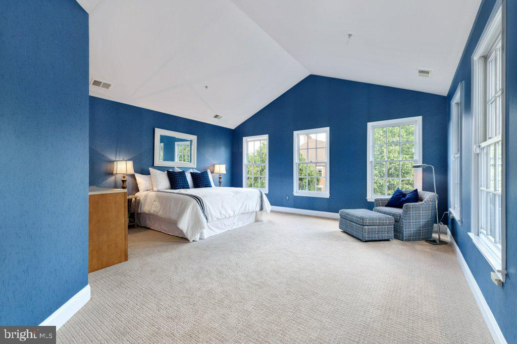 French doors open to the expansive master suite - 405 S HENRY ST, ALEXANDRIA