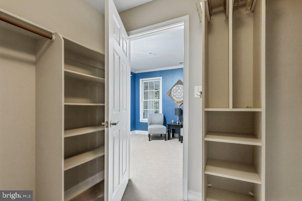 With custom built-in shelves and hanging space - 405 S HENRY ST, ALEXANDRIA