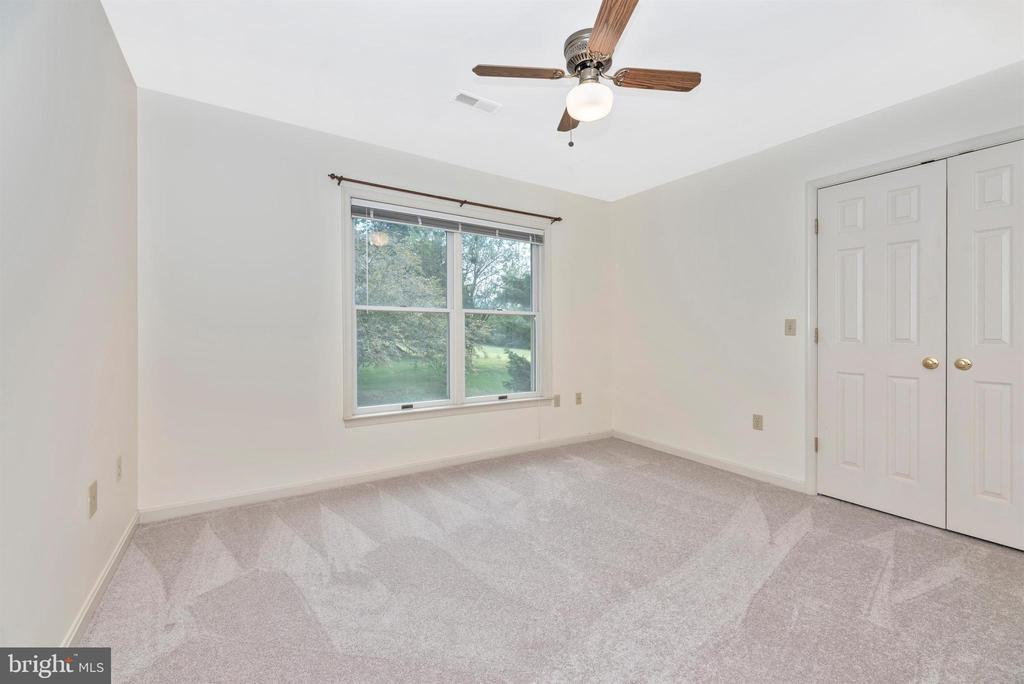 Bedroom 3 with ceiling fan. - 7799 COBLENTZ RD, MIDDLETOWN